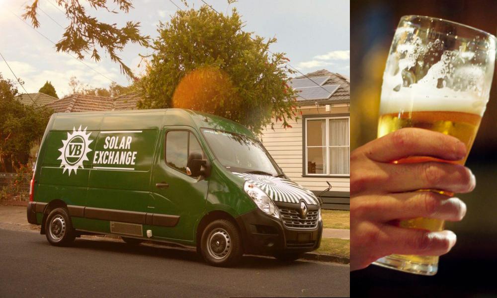 Cette entreprise permet d'échanger le surplus d'énergie solaire contre de la bière