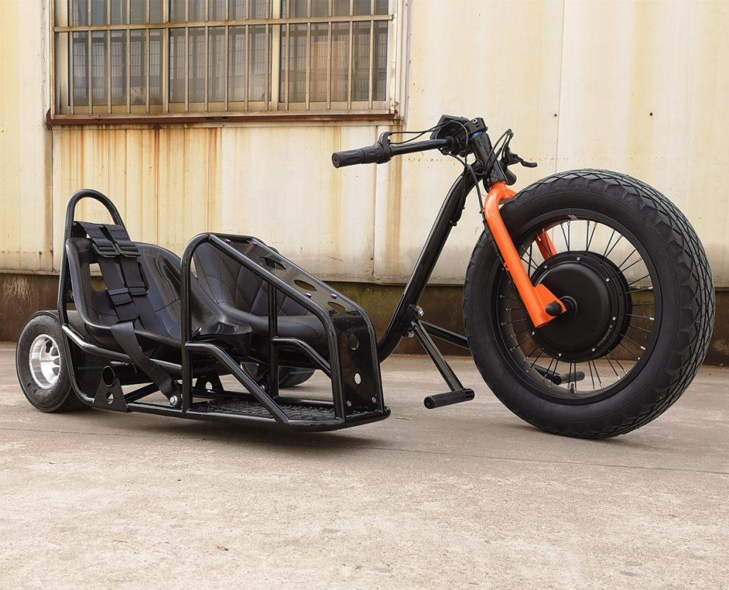 Ce sidecar électrique de folie est à vous pour 800 €
