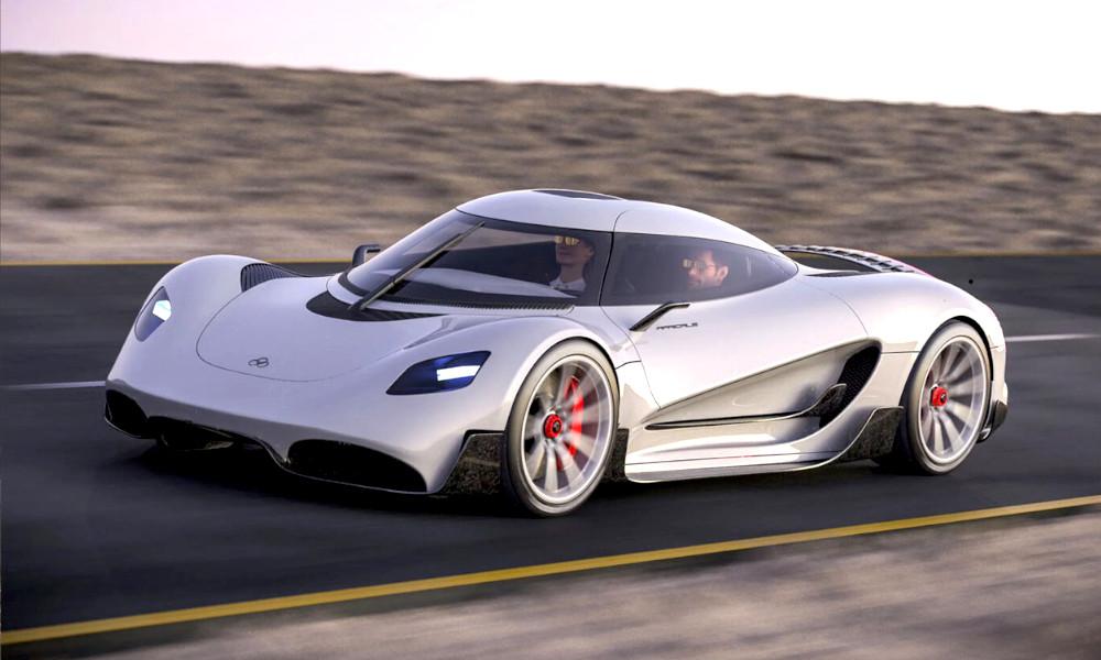 Ce supercar à 1,7 millions d'euros carbure à l'hydrogène
