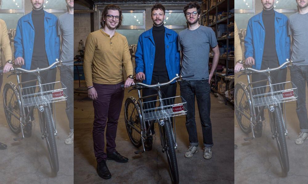 Moitié bicyclette, moitié chariot : voici le premier vélo Caddie