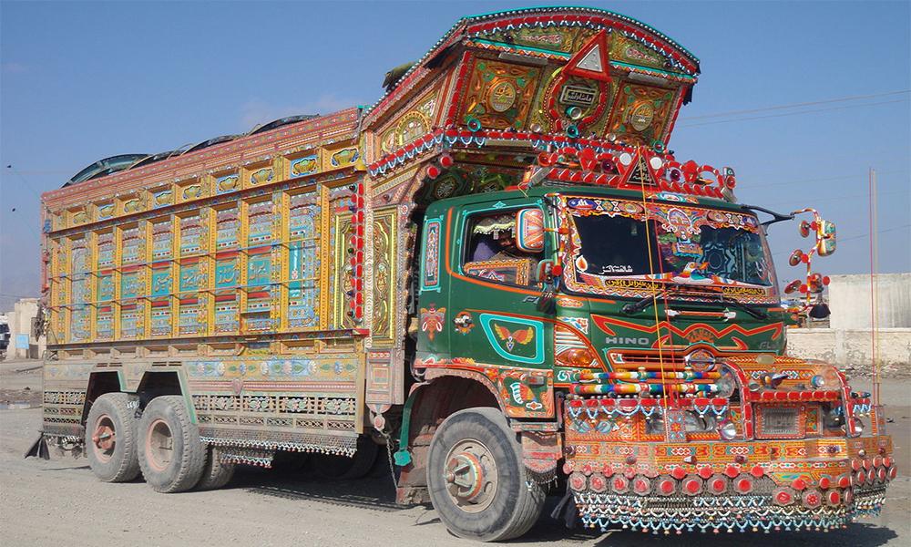Pourquoi l'Inde est-elle le paradis des décorateurs de camion ?