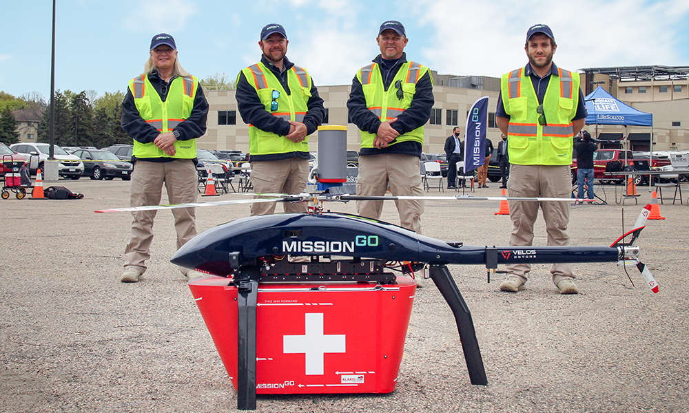 Ce drone livre des organes pour sauver des vies plus rapidement