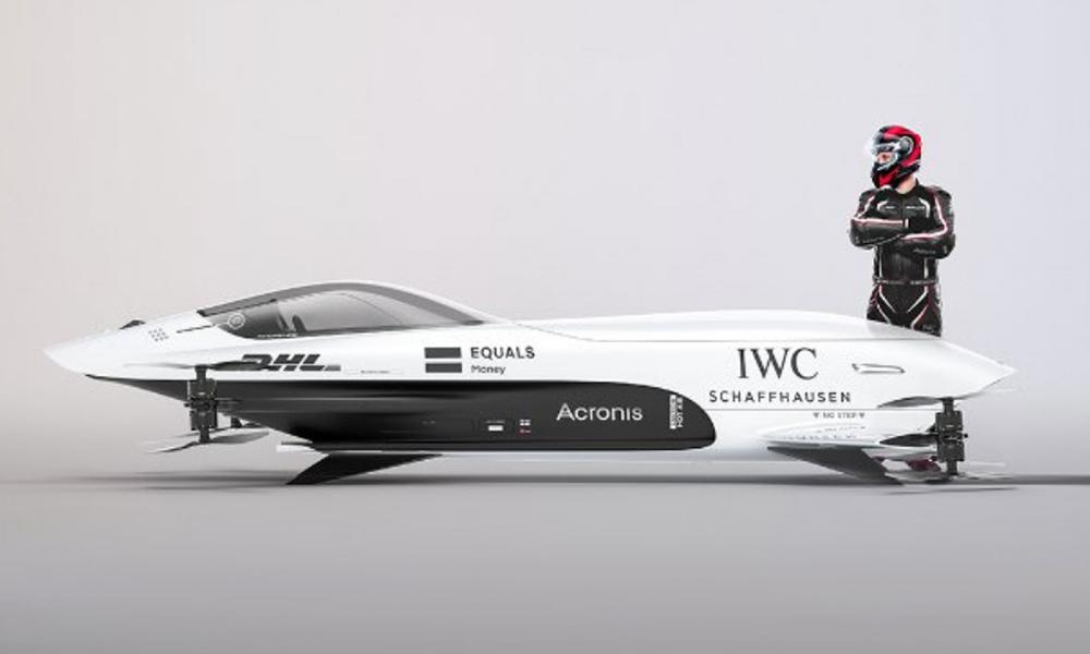 De 0 à 100 km/h en 3 secondes : voici la Formule 1 des voitures volantes