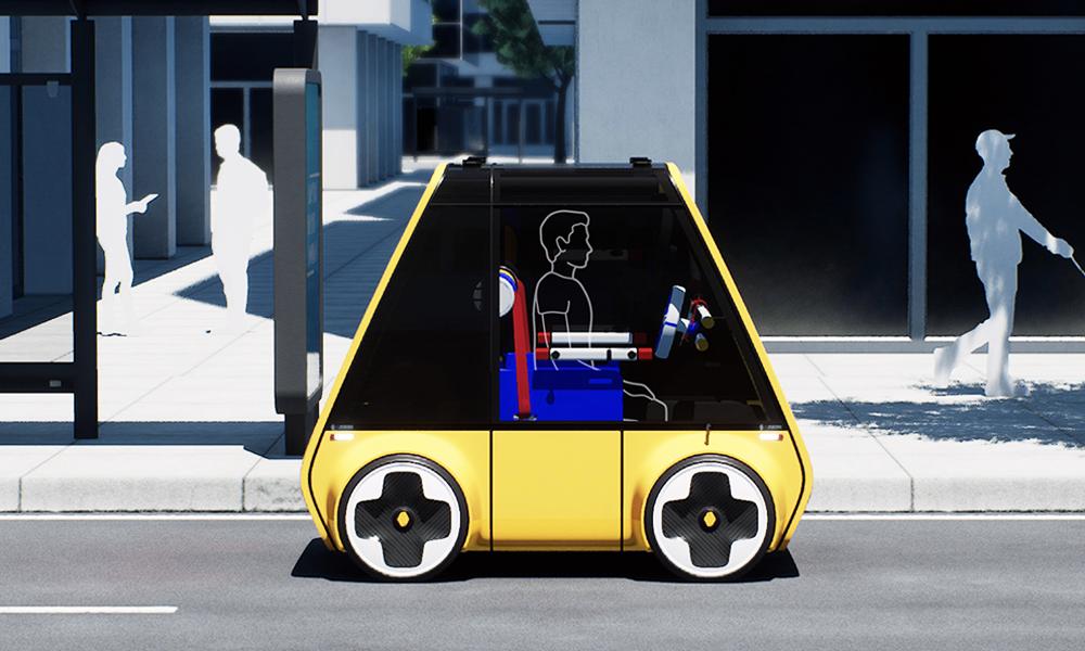Voici à quoi pourrait ressembler une voiture IKEA à monter soi-même
