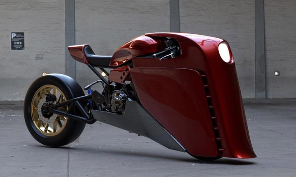 Fan des Avengers, il se fait construire la moto d'Iron Man
