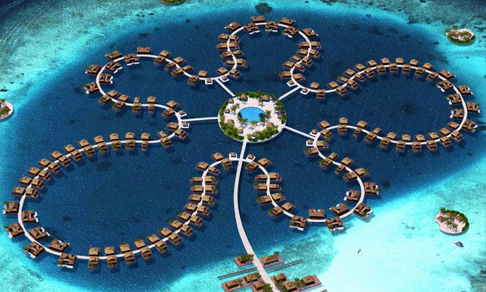 Les Maldives vont bâtir une énorme ville flottante pour éviter l'inondation