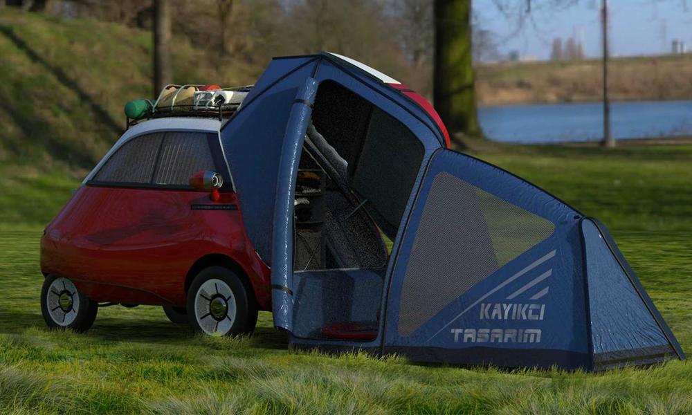 Les misanthropes vont adorer ce mini camping-car pour 1 personne