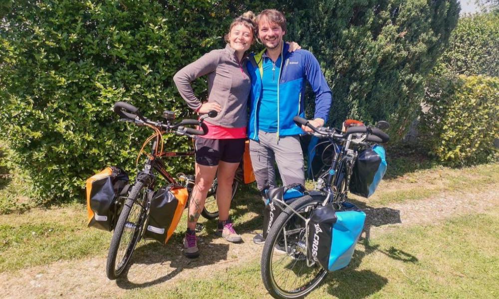 Ce couple va tout plaquer pour rejoindre la Nouvelle Zélande à vélo