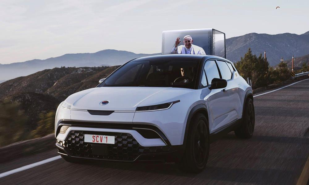 Alleluia, le pape pourrait bientôt rouler dans ce SUV électrique