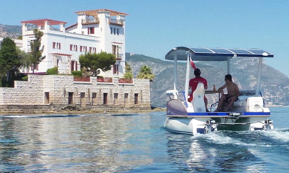 Seazen : des bateaux électriques pour profiter de la Côte d'Azur sous le soleil, exactement