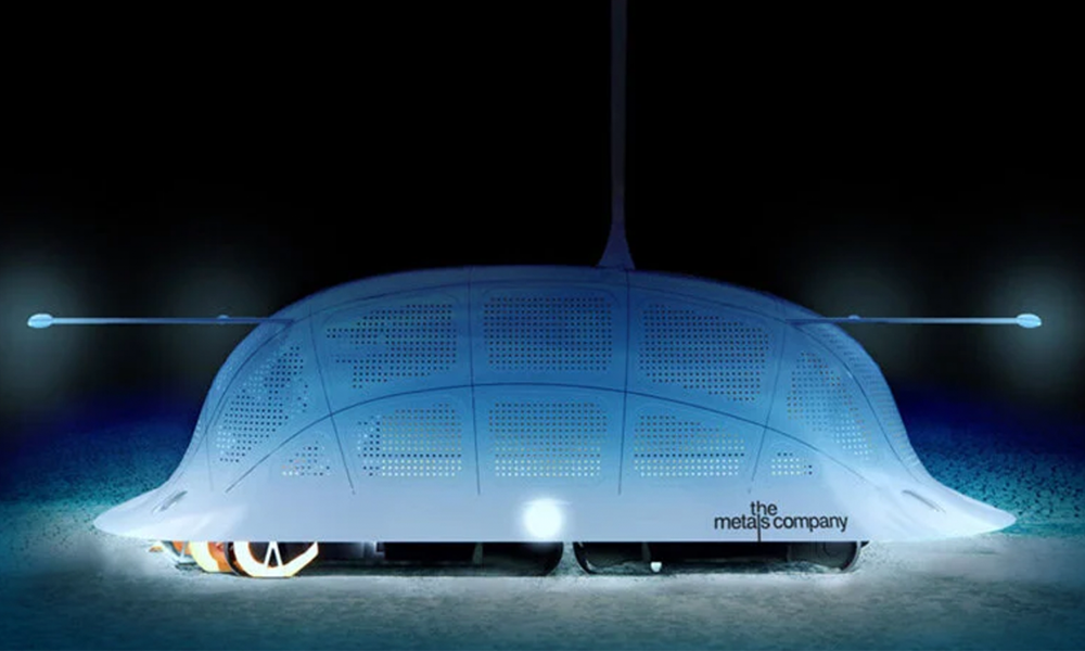 Voiture électrique : ce robot fouille les océans pour construire des batteries propres