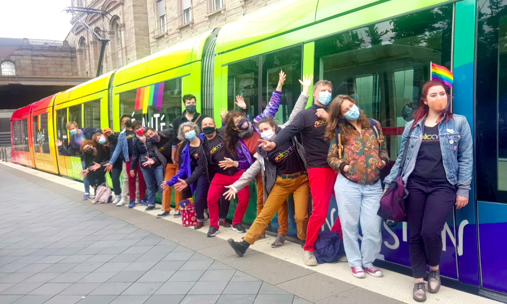 À Strasbourg, les transports en commun sont plus gais avec ce tram LGBT+