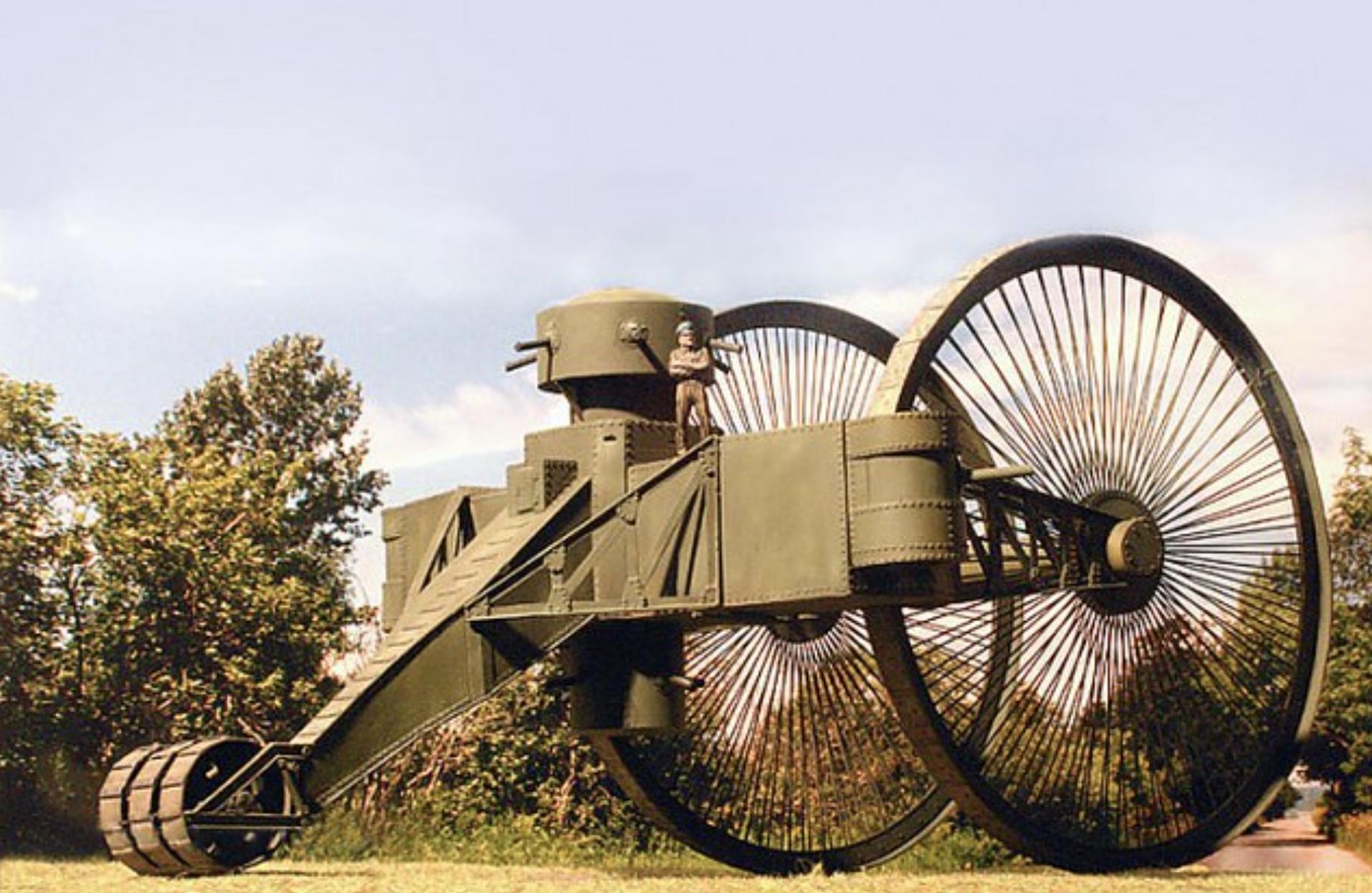 Il y a 100 ans, la Russie inventait... le tank tricycle