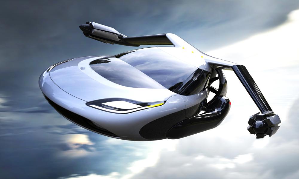 70% des Européens prêts à monter dans une voiture volante, selon un sondage