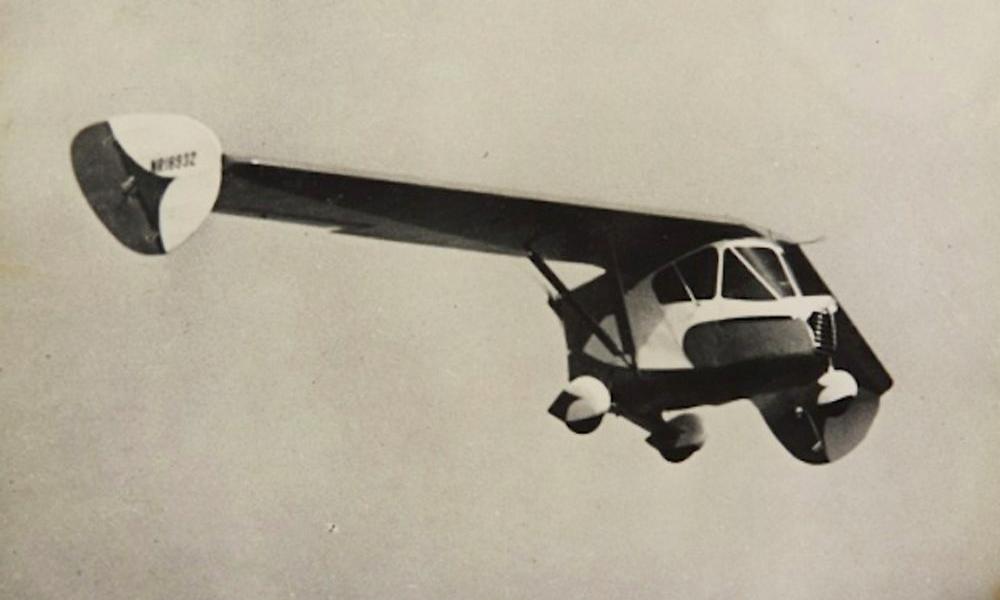 Le saviez-vous ? La première voiture volante a presque 100 ans
