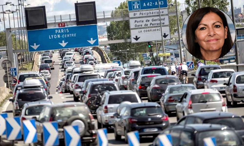 La piétonnisation de Paris aurait créé +15% de bouchons en 5 ans