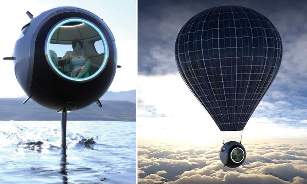 Terre, mer, ciel... cette boule géniale peut rouler partout