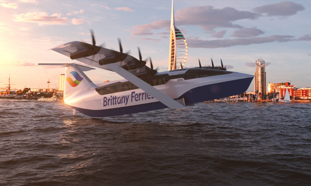 Dès 2025, ce ferry volant vous emmènera en Angleterre en 40 minutes