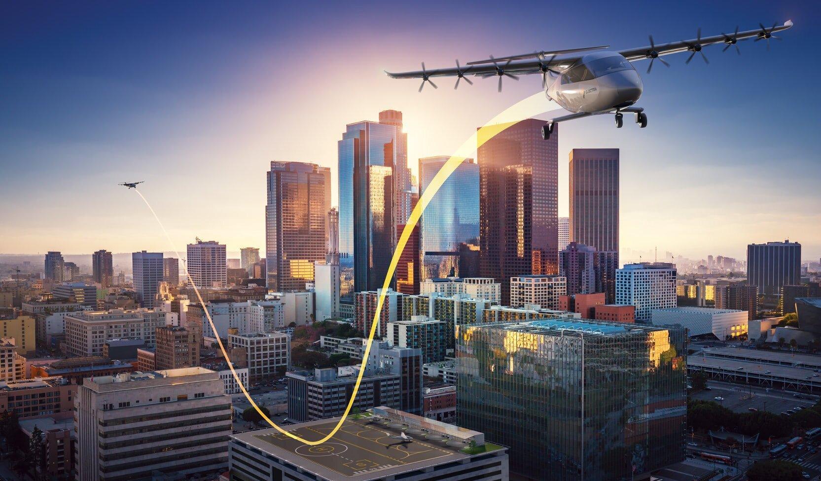 Cet avion électrique peut décoller depuis un toit d'immeuble