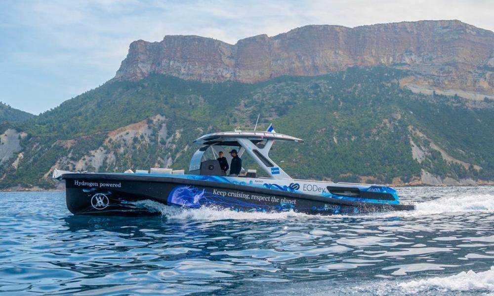 En France, on n'a pas de pétrole mais… on a le premier bateau à hydrogène au monde