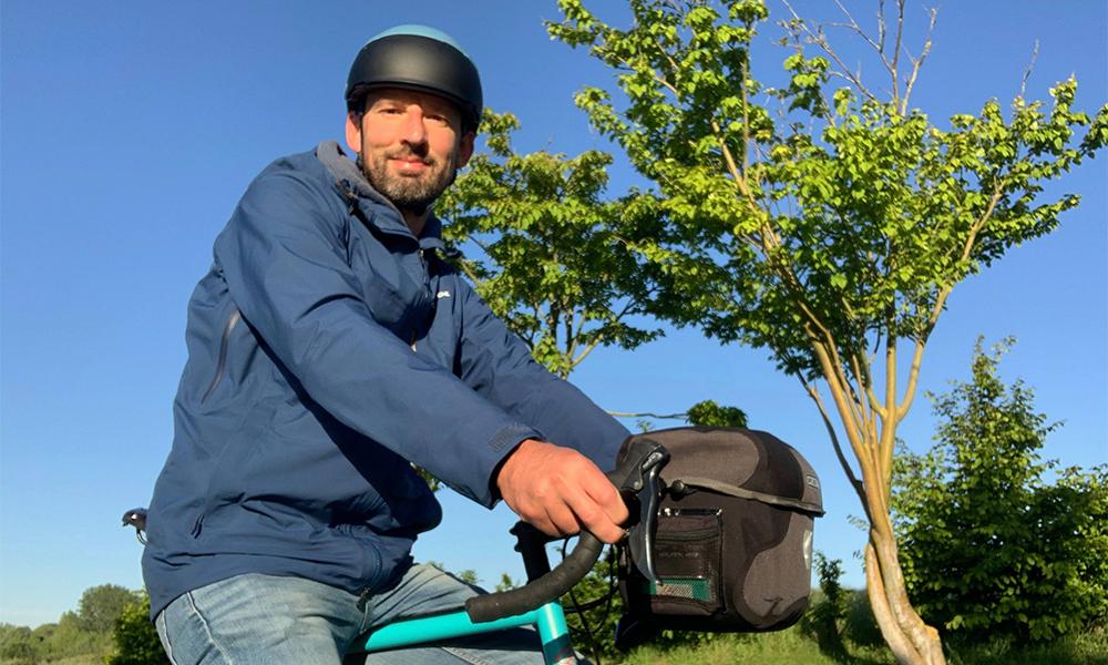 Ce prof va parcourir l'Europe à vélo pour motiver ses élèves à voyager