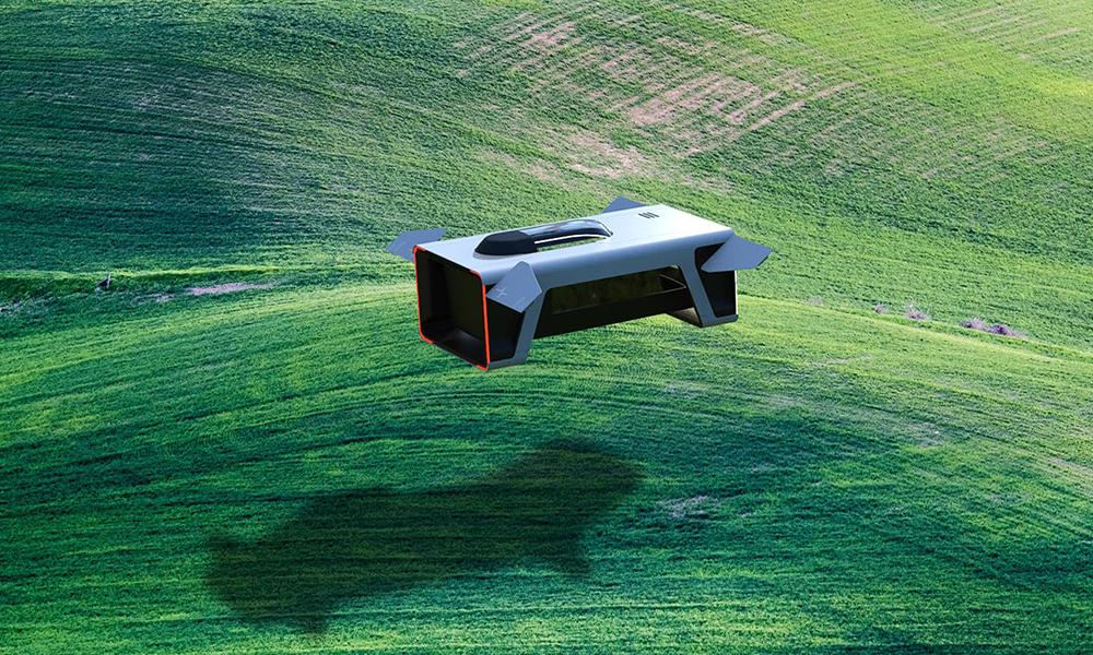 Il invente une maison volante capable d'aller plus loin que n'importe quelle voiture