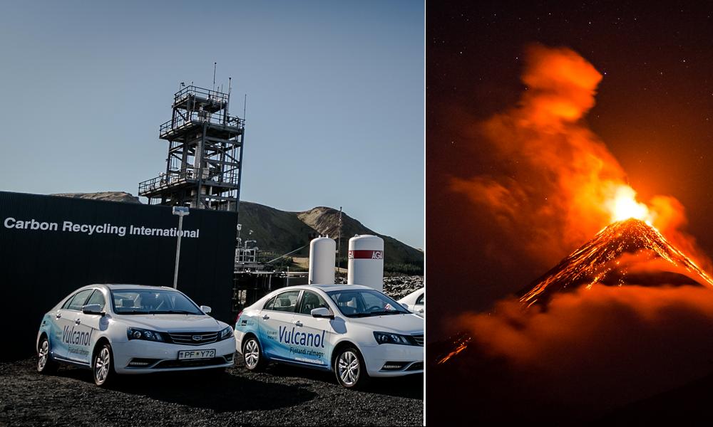 En Islande, on produit du carburant grâce à… l'énergie des volcans