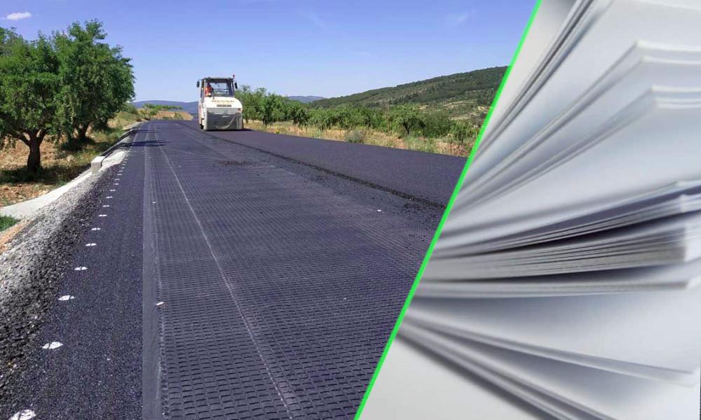 Bye-bye le ciment polluant, l'Espagne teste une route… en papier