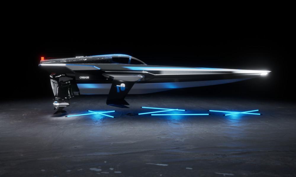 Ces bateaux de course électriques voleront au dessus de l'eau dès 2023