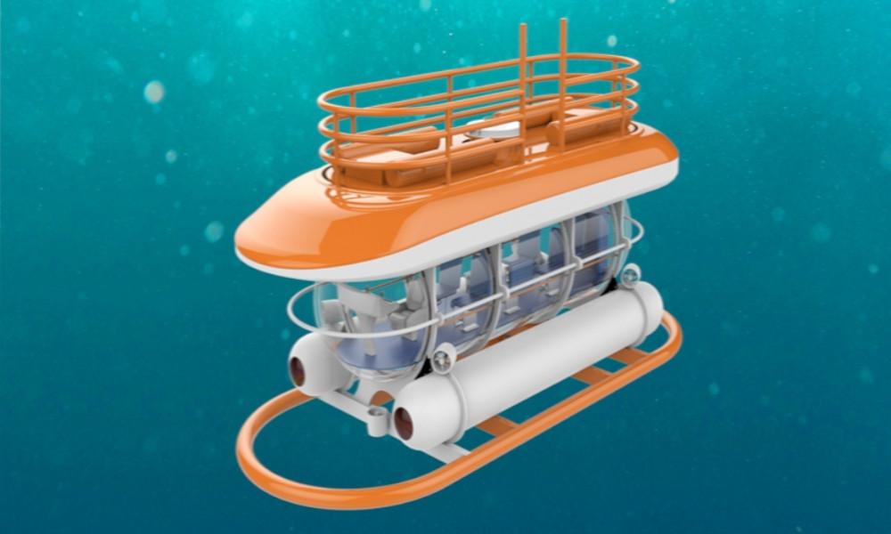 Qui veut plonger sans polluer avec ce sous-marin électrique à 700 000 € ?