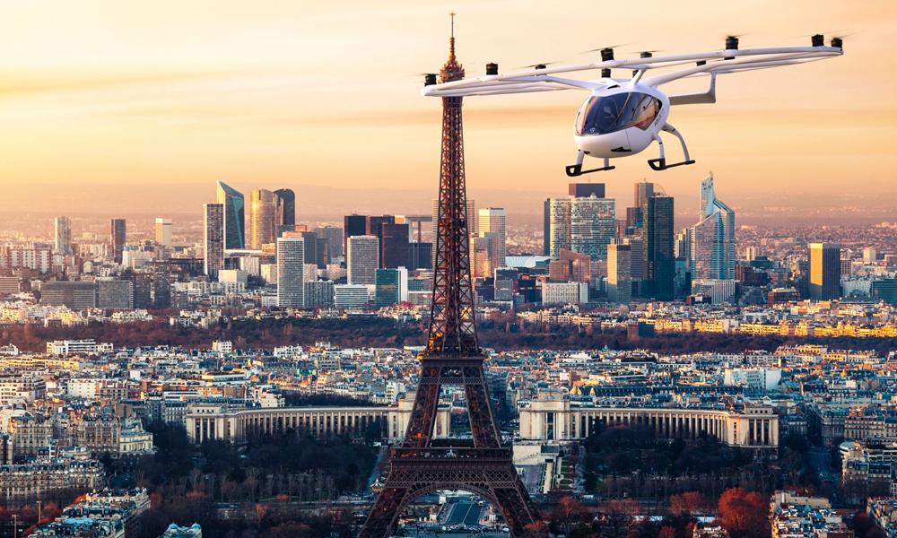 Voici le Volocopter, premier taxi volant autorisé à survoler l'Europe