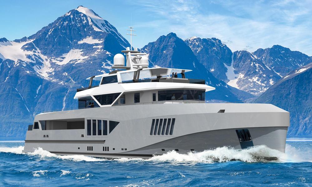 Ce yacht pour aventuriers millionnaires peut naviguer 6 semaines sans toucher terre