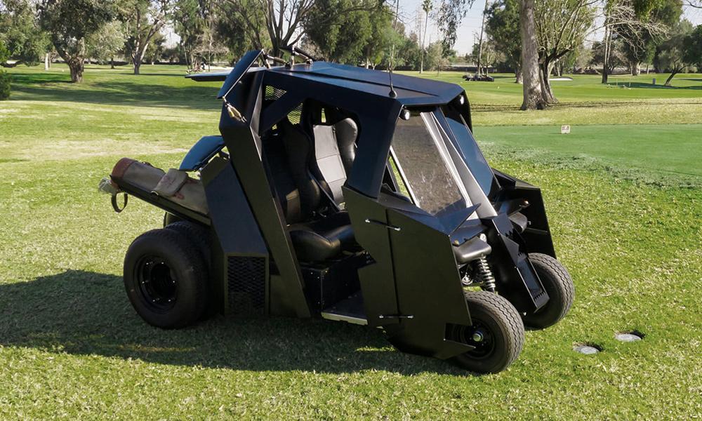 Si Bruce Wayne allait au Golf, il se jetterait sur cette bat-voiturette