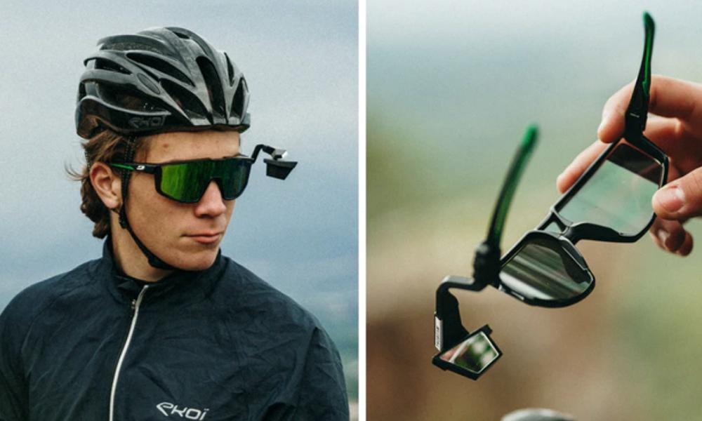 Roulez à vélo, libéré et délivré, avec ce mini-rétro à accrocher sur vos lunettes