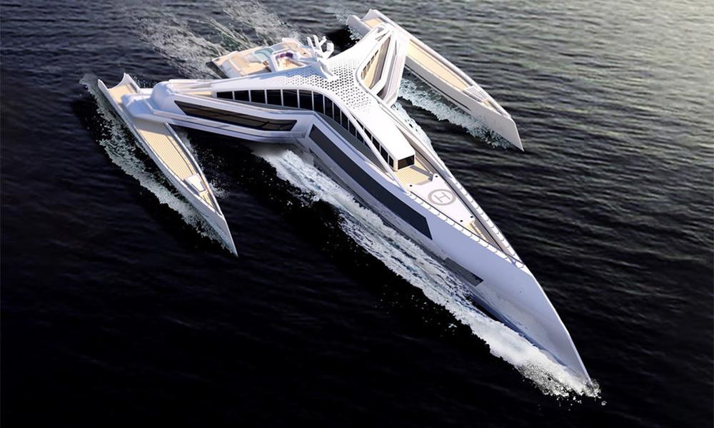 Ceci n'est pas un vaisseau spatial, c'est un yacht inspiré par Star Wars