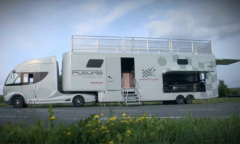 Camion, camping-car, parking et maison : cet engin fait tout