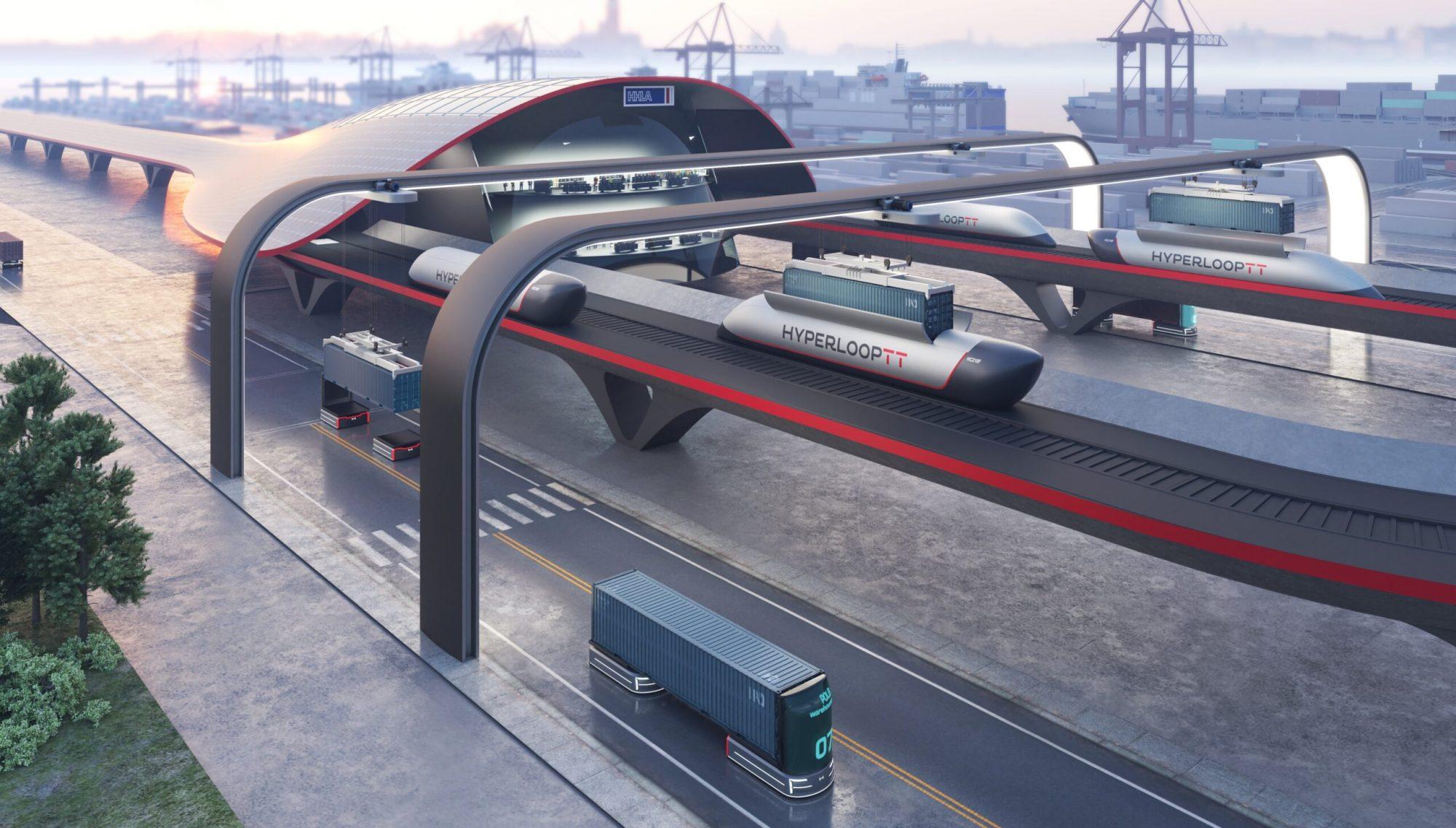 Voici HyperPort, un super-train aussi rapide qu'un avion