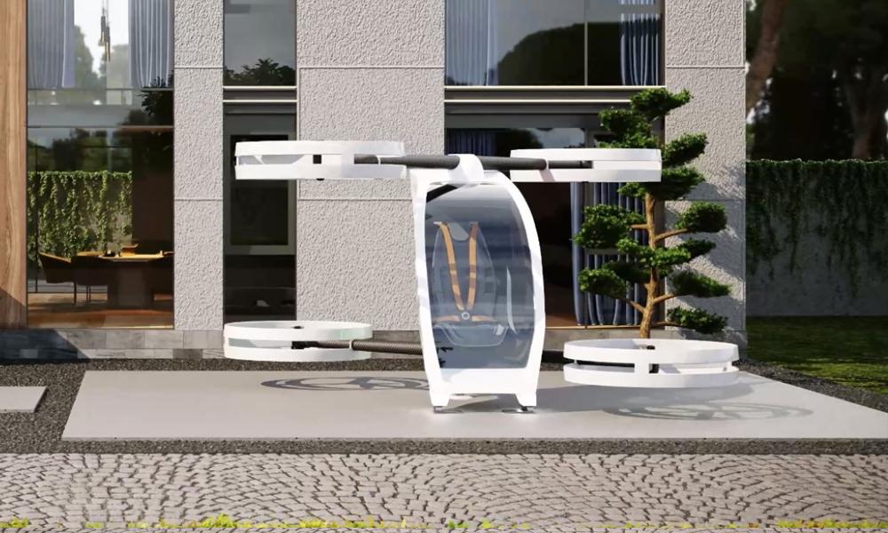 Cette voiture volante peut décoller depuis n'importe quel jardin
