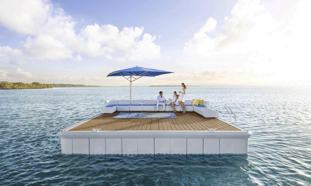 Cet été, jetez-vous à l'eau : achetez cette île flottante XXL