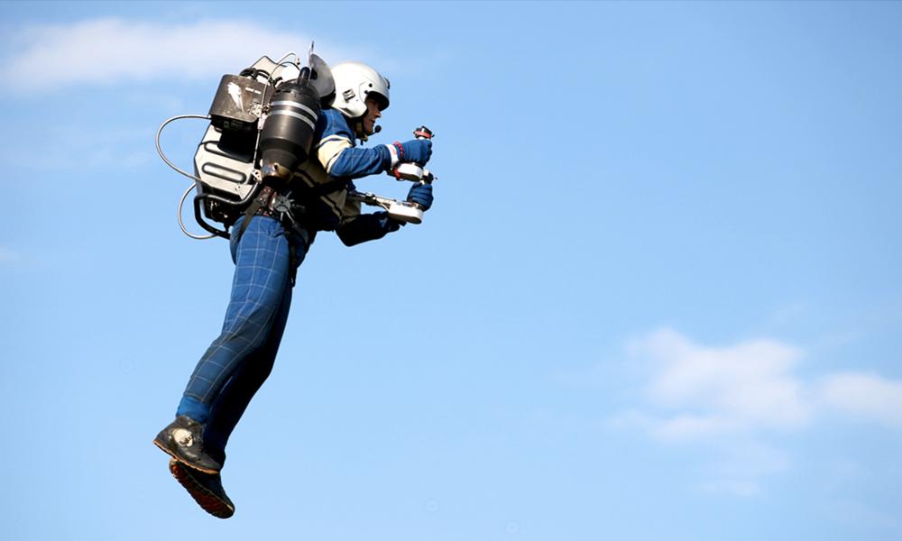 Dans cette école, on apprend à voler en jetpack