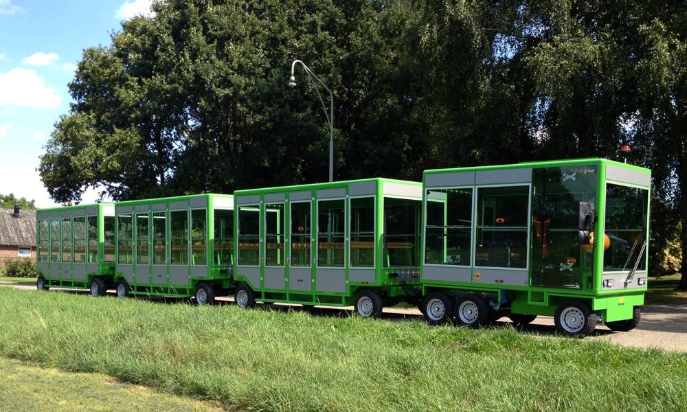 Lille lance un petit train solaire qui coûte 1 € pour 100 kilomètres
