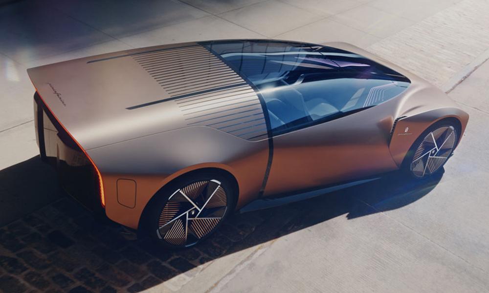 Ce concept car de Pininfarina est belle comme une balle de fusil