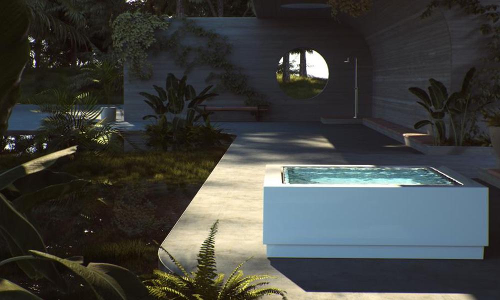 Ces mini-piscines ultra design peuvent se poser n'importe où