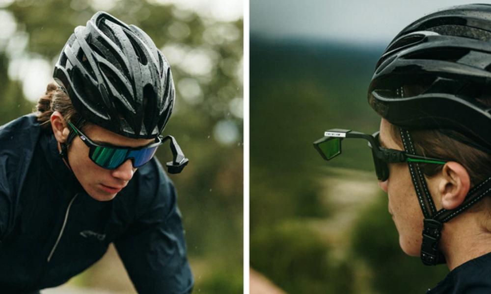 Roulez à vélo, libéré et délivré, avec ce mini-rétro à accrocher sur vos lunettes ! (vidéo) Par Robin Ecoeur Retroooo