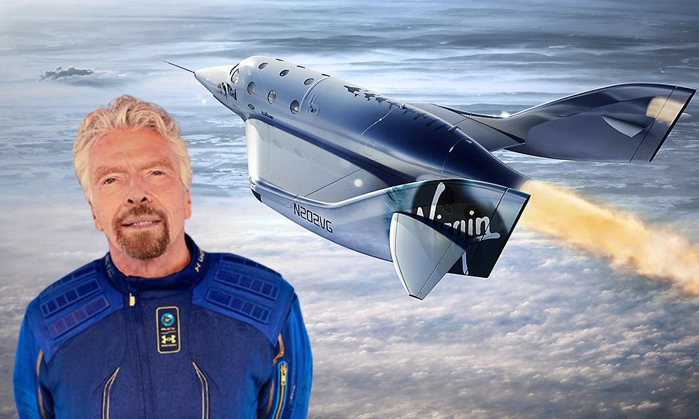 Officiel : le milliardaire Richard Branson va décoller dans l'espace pour tester ses fusées