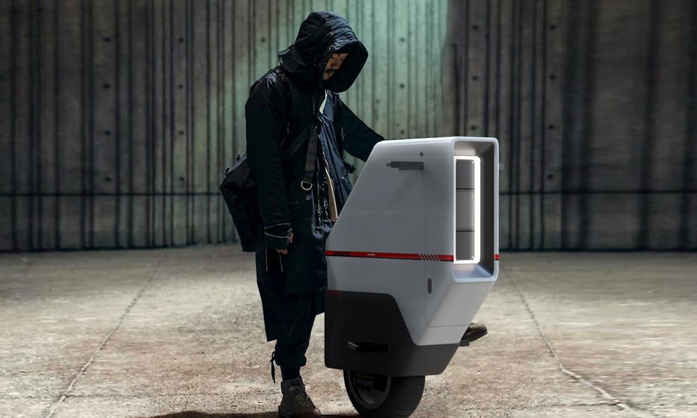 Ce scooter électrique vient du futur, mais avec 1 seule roue