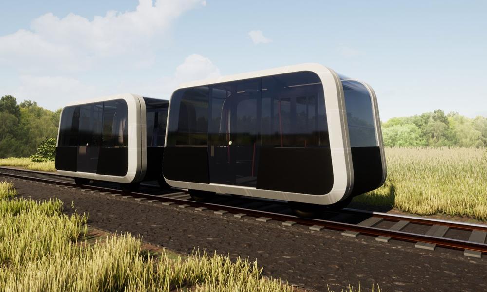 Taxirail, le train sans pilote qui veut sauver les petites lignes SNCF
