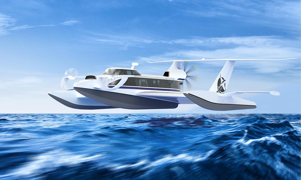 Chaud devant : Bayonne va tester des bateaux capables de VOLER à 320 km/h