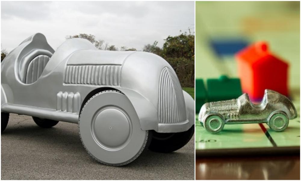 Cette version électrique de la voiture du Monopoly peut passer par la case départ, sans polluer
