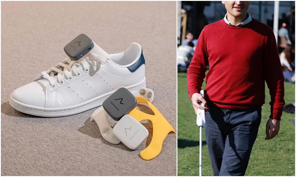 Ces chaussures GPS vibrent pour guider les personnes malvoyantes